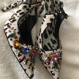 Dolce and Gabanna heels size 40 1200,00 value